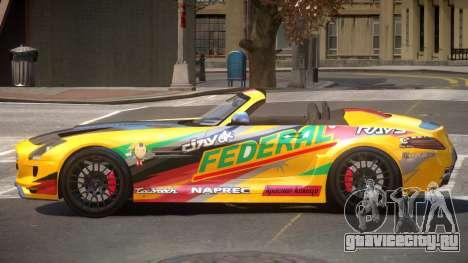 Mercedes-Benz SLS H-Style PJ5 для GTA 4