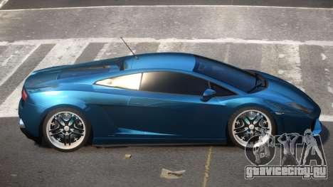 Lamborghini Gallardo LP560 для GTA 4