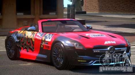 Mercedes-Benz SLS H-Style PJ4 для GTA 4