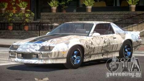 Chevrolet Camaro IR PJ6 для GTA 4
