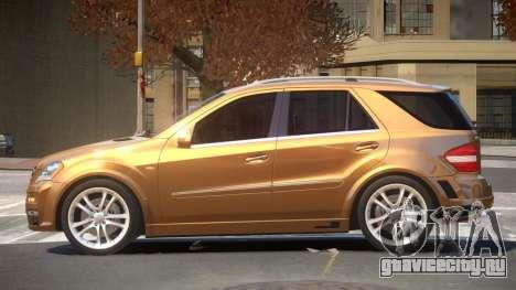 Mercedes Benz ML63 B-Style для GTA 4