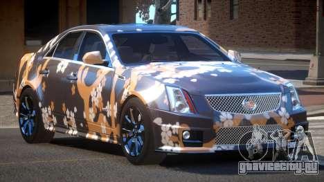 Cadillac CTS-V LR PJ2 для GTA 4