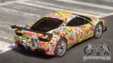 Ferrari 458 Qz PJ1 для GTA 4