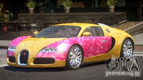 Bugatti Veyron 16.4 RT PJ6 для GTA 4