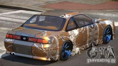 Nissan Silvia S14 R-Tuning PJ5 для GTA 4