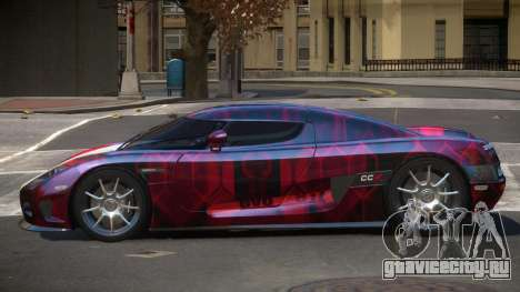Koenigsegg CCX S-Tuned PJ3 для GTA 4