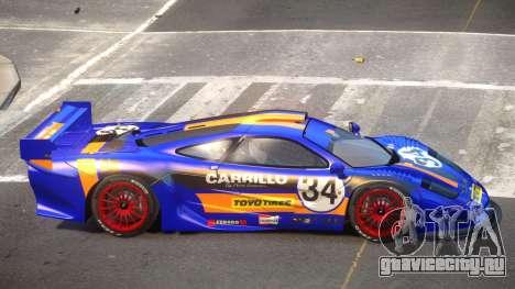 McLaren F1 G-Style PJ5 для GTA 4