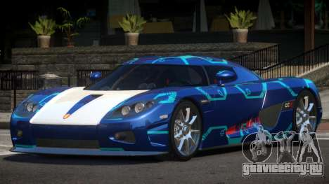 Koenigsegg CCX S-Tuned PJ2 для GTA 4