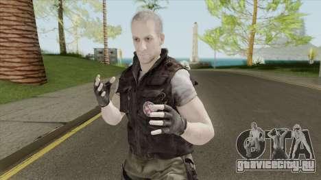 Nikolai Zinoviev (RE3 Remake) для GTA San Andreas