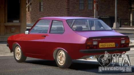 Dacia 1310 S-Tuned для GTA 4