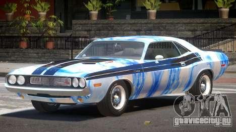 Dodge Challenger RT H-Style PJ1 для GTA 4
