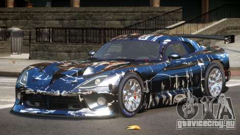 Dodge Viper SRT L-Tuning PJ4 для GTA 4