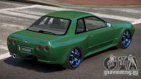 Nissan Skyline R32 IVE для GTA 4