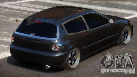 Honda Civic RTS для GTA 4