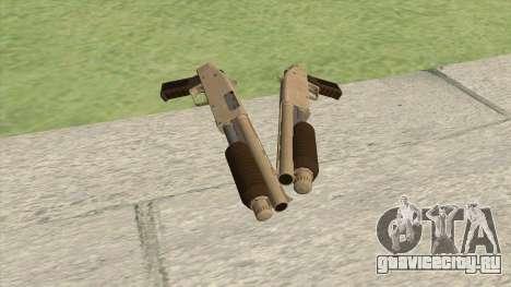 Sawed-Off Shotgun GTA V (Army) для GTA San Andreas