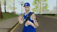 Random Male V2 (Los Angeles Lakers) для GTA San Andreas