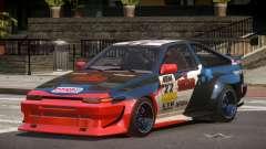 Toyota Corolla GT S-Tuning PJ1 для GTA 4