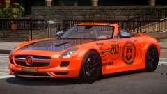 Mercedes-Benz SLS H-Style PJ2 для GTA 4