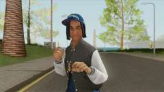 Crips Gang Member V3 для GTA San Andreas