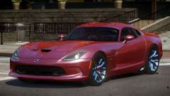 Dodge Viper SRT D-Tuned для GTA 4