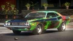 1972 Dodge Challenger RT PJ3 для GTA 4