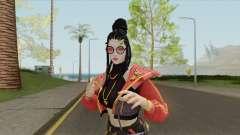 Trap Girl Moco (Free Fire) для GTA San Andreas