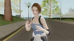 Jill Valentine V3 (RE3 Remake) для GTA San Andreas