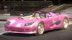 Koenigsegg CCRT Sport PJ4 для GTA 4