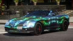 Mercedes-Benz SLR RTF PJ5 для GTA 4