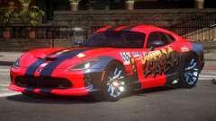 Dodge Viper SRT D-Tuned PJ1 для GTA 4