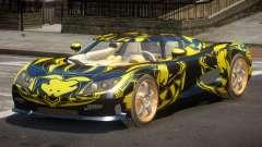 Koenigsegg CCRT Sport PJ1 для GTA 4