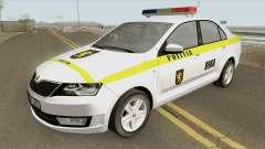 Skoda Rapid (Politia Republica Moldova) 2016 для GTA San Andreas