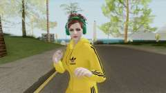 Random Female Skin V2 (Sport Gym) для GTA San Andreas