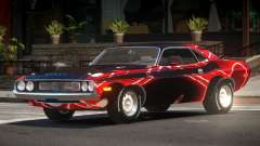 1972 Dodge Challenger RT PJ2 для GTA 4