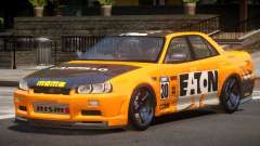Nissan Skyline R34 D-Style PJ6 для GTA 4