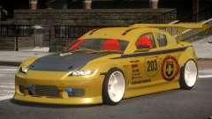 Mazda RX8 S-Tuned PJ3 для GTA 4