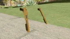 Sawed-Off Shotgun GTA V (Gold) для GTA San Andreas