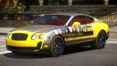 Bentley Continental RT PJ3 для GTA 4