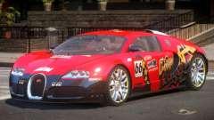 Bugatti Veyron 16.4 S-Tuned PJ2 для GTA 4