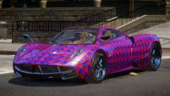 Pagani Huayra GBR PJ6 для GTA 4