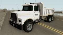 Brute Tipper (II) GTA V для GTA San Andreas
