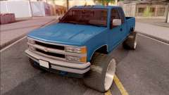 Chevrolet Silverado 1992 Lifted для GTA San Andreas