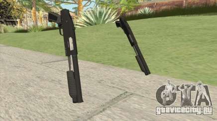 Sawed-Off Shotgun GTA V (Black) для GTA San Andreas