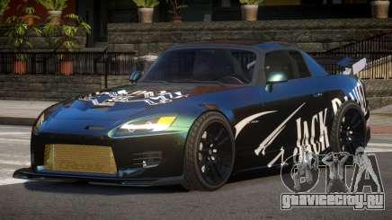 Honda S2000 GEN PJ2 для GTA 4