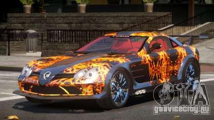 Mercedes Benz SLR H-Style PJ1 для GTA 4