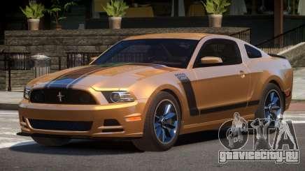 Ford Mustang B-Style для GTA 4