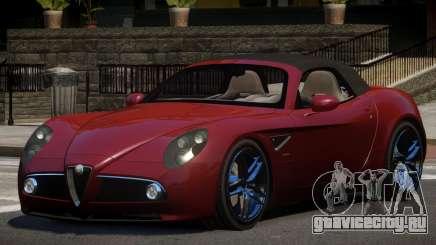 Alfa Romeo 8C SR для GTA 4