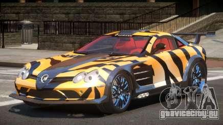 Mercedes Benz SLR H-Style PJ5 для GTA 4