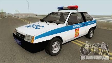 ВАЗ 2108 ДПС (MQ) для GTA San Andreas