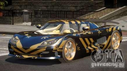 Koenigsegg CCRT Sport PJ3 для GTA 4